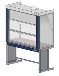 Вытяжной шкаф ЛАБ-PRO ШВ 150 в стандартной комплектации