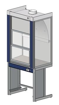 Вытяжной шкаф ЛАБ-PRO ШВ 90 в стандартной комплектации