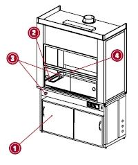 Пример заказа вытяжного шкафа